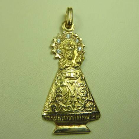 Virgen del Niño Perdido. Tabuenca. Circonitas