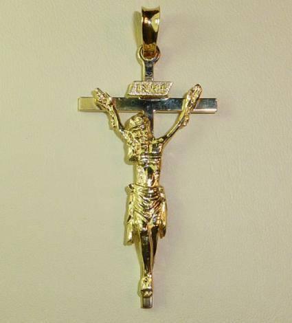 Sto. Cristo de la Capilla, Ainzón. 34 mm.