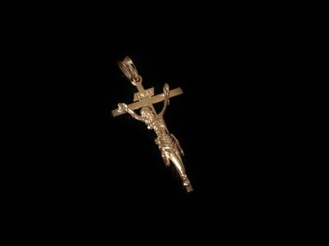 Sto. Cristo de la Capilla. Ainzón. Plata 42mm