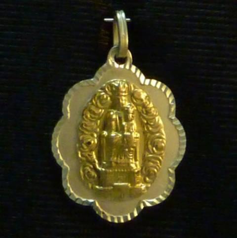 Virgen del Castillo. Fuendejalón. Ondas Plata/Oro
