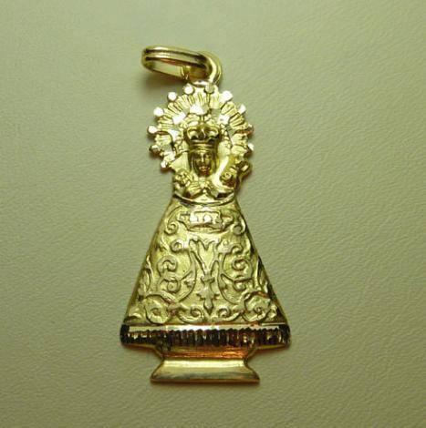 Virgen del Niño Perdido. Tabuenca. 34 mm