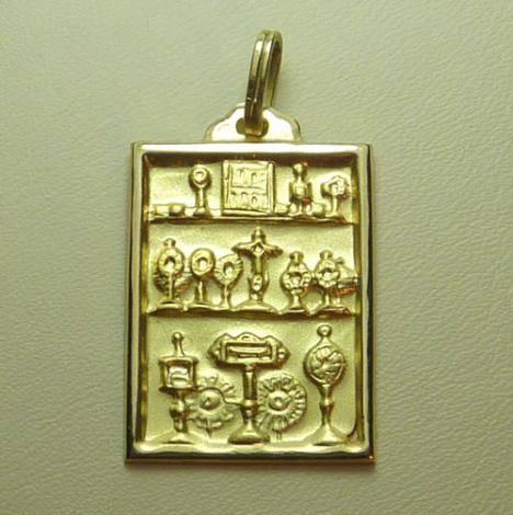 Santas Reliquias. Ambel. 23 mm