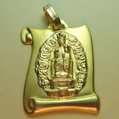 Virgen del Castillo. Fuendejalón. Pergamino